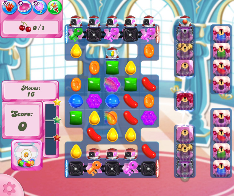 Candy Crush Saga level 2646