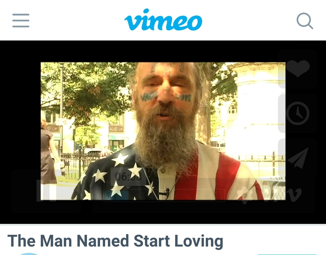 Man called Start Loving