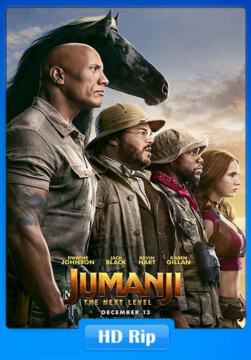 Jumanji The Next Level 2019 Hindi 720p HC HDRip x264 | 480p 300MB | 100MB HEVC