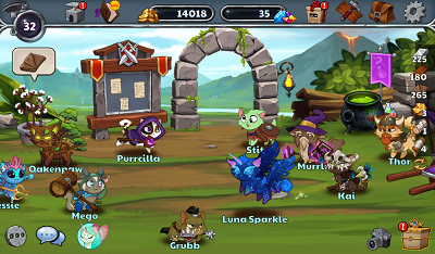 Download Castle Cats Apk Mod Unlimited Gems 1.5.3 Terbaru