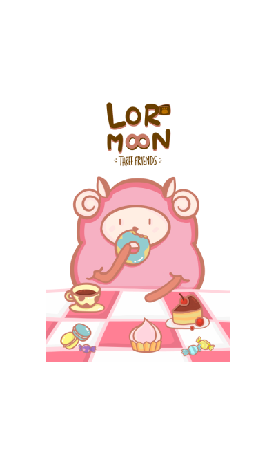 Lor Moon three friends - Sweet sheep.