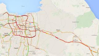 Pantura Cirebon Dilalui 221.736 Kendaraan Pada Minggu