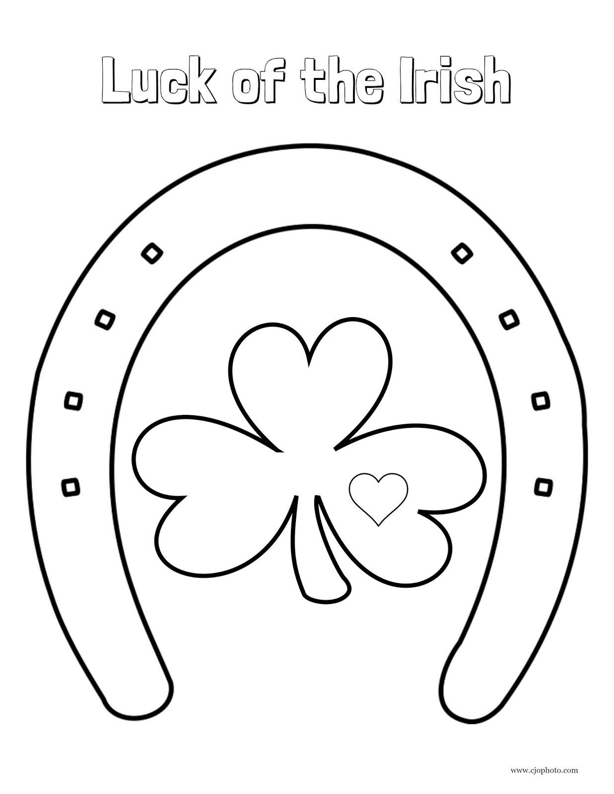 Free Printable St. Patrick's Day Coloring Pages | i should be ... | 1600x1237