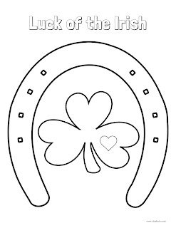 cjo photo st patrick's day coloring page luck of the irish