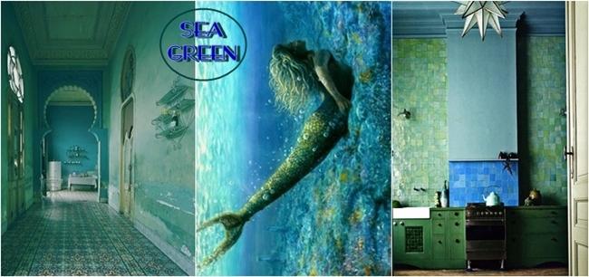 sea green color inspiration