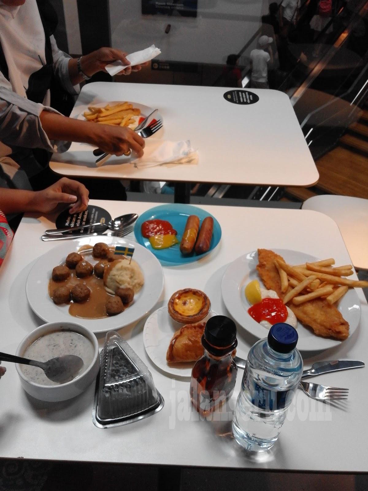 Icip Icip Makan Enak Di Restoran Ikea Alam Sutra Tangerang Jalan