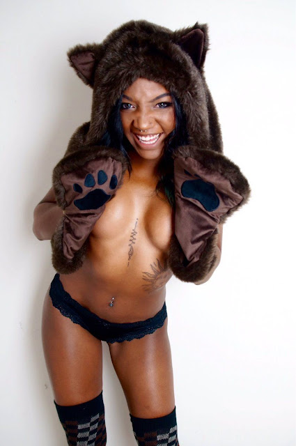 Kay Bear upskirt