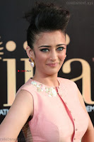 Akshara Haasan in Peach Sleevless Tight Choli Ghagra Spicy Pics ~  Exclusive 04.JPG