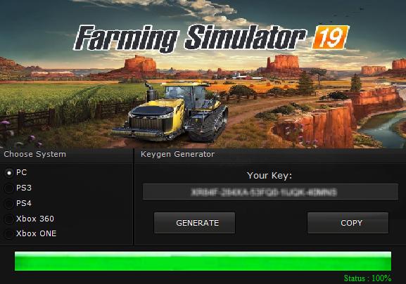 Simulator Games Pc 2018 >> FARMING SIMULATOR 19 KEY GENERATOR KEYGEN FOR FULL GAME + CRACK - KEYGENFORBESTGAMES