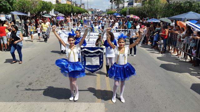 Dia 7 de Setembro: Prefeitura de Goiana realizou desfile cívico