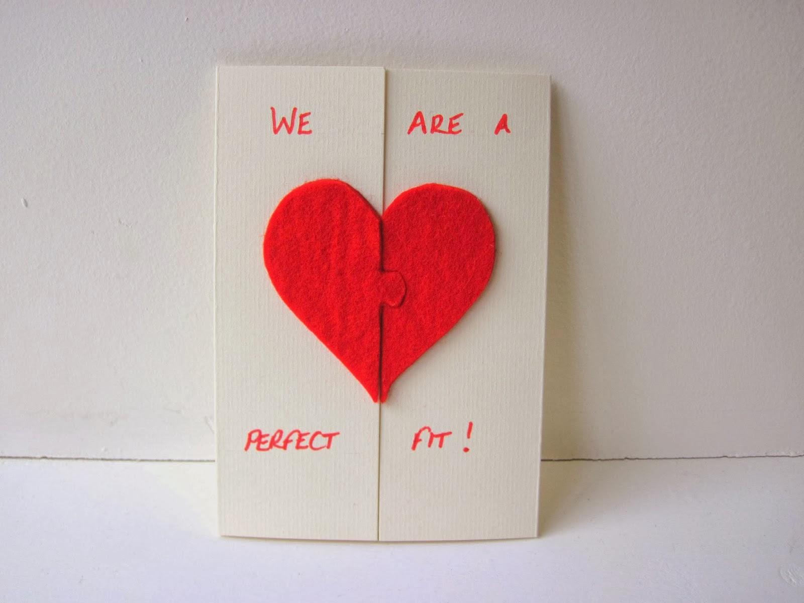 Cartao De Amor Para Photoshop: Artesanato Reciclado: Cartão De Amor