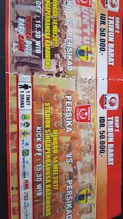 Sore ini, Persika Karawang Tanding Persikad di Lapang Stadion Singaperbangsa