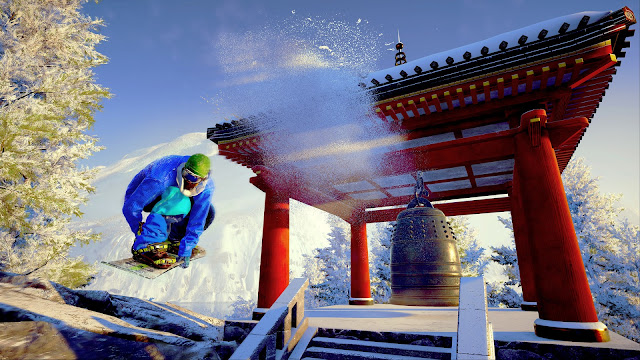 Snowboarding games Japan