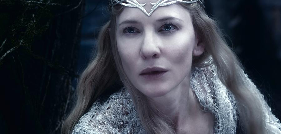Lady Galadriel în Hobbitul: Bătălia Celor Cinci Oştiri
