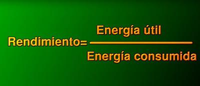 formula del rendimiento coches electricos e