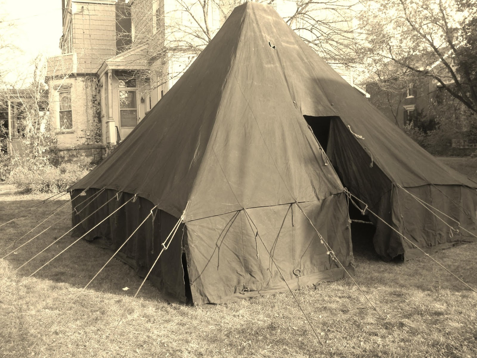 Armbruster Manufacturing Co World War One Tents For