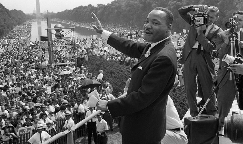 Dr. King's historical speech