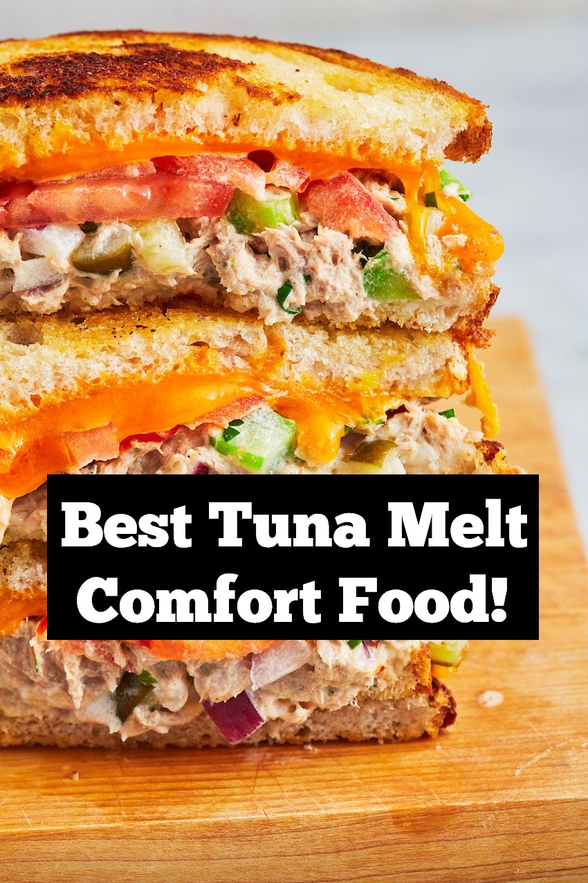 Best Ever Tuna Melt Comfort Food | Tuna recipe | seafood recipe | best dinner recipe | easy dinner recipe | weeknight dinner recipe | Easy seafood dinner recipe | Comfort Food Recipe #dinner #seafood #dinnerrecipe #seafoodrecipe #tuna #comfortfood #tunarecipe #easydinnerrecipe #easyseafoodrecipe