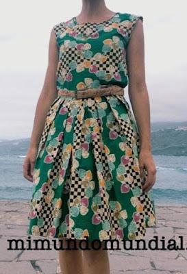 patron de vestido del libro costura vintage Annabel Benilan
