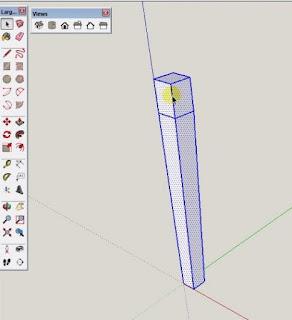 Tutorial Sketchup Membuat Meja Berdasarkan Komponen