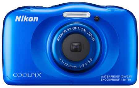 Nikon Coolpix S33 Digitalkamera
