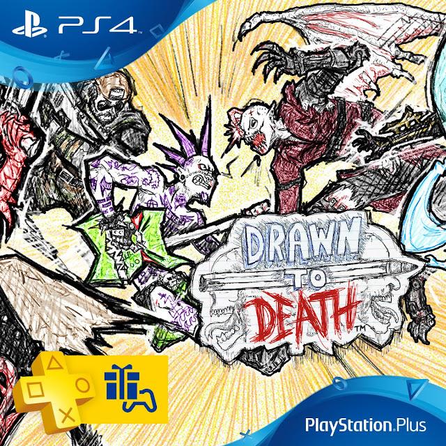 Anunciados los juegos gratis de PSN + de abril: ¡Drawn to Death como protagonista!