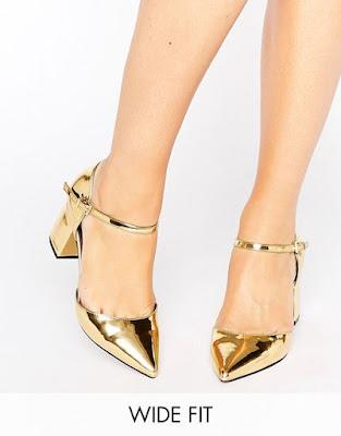 Zapatos de Tacon bajo para Fiesta de dama