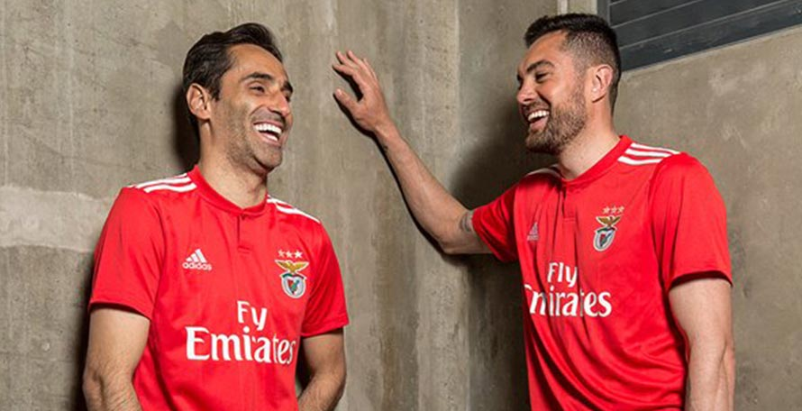 new styles e6177 2c682 Benfica 18-19 Home Kit Released - Footy Headlines