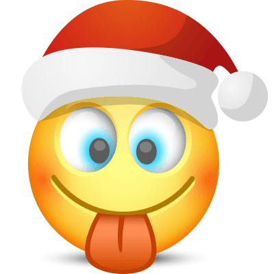 Tongue-Out Santa