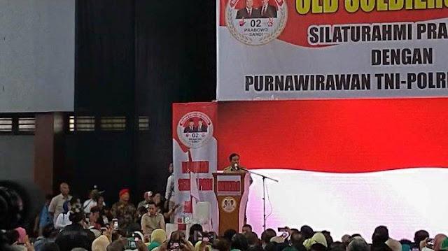 Meski Sudah Jadi Presiden Kelak, Prabowo Siap Bila Para Senior Memanggil