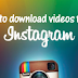 Instagram Video Download Link