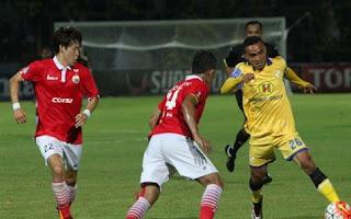 Persija Jakarta Ditahan Imbang Barito Putera 1-1