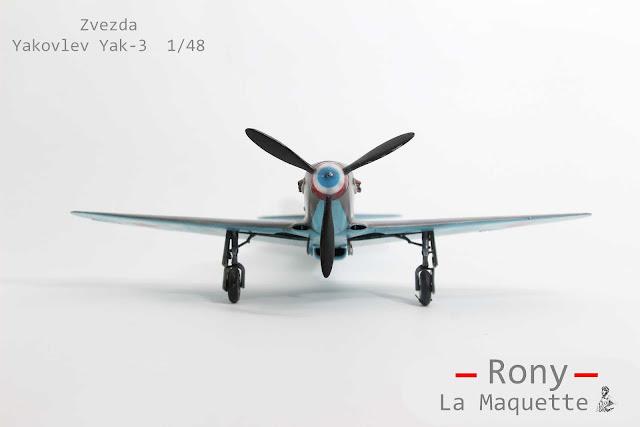 Maquette du Yak 3 de Zvezda au 1/48.