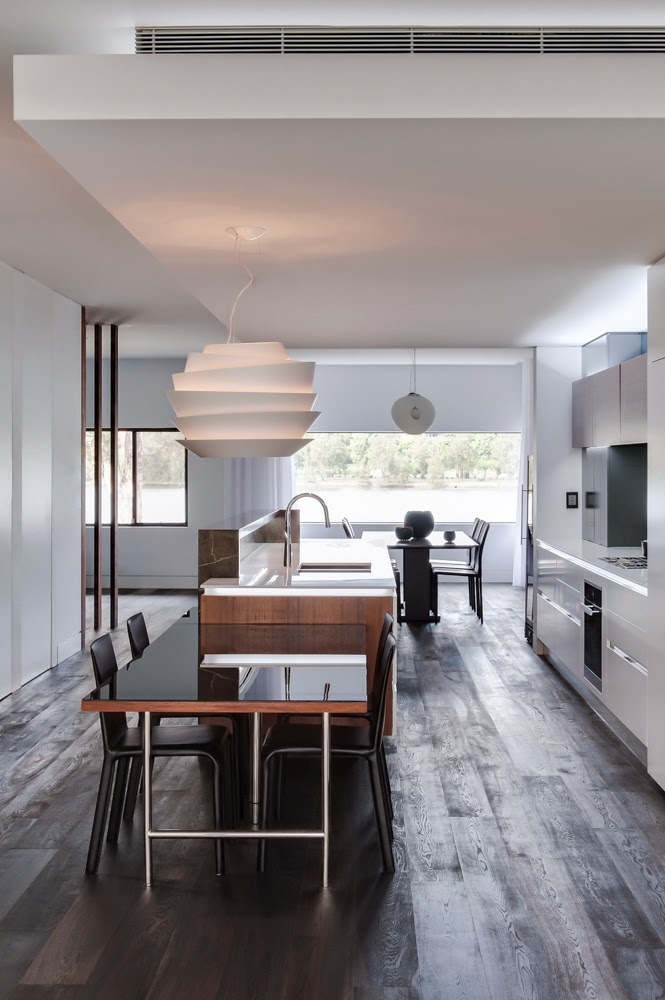 minosa kitchen design connecting space  the modern