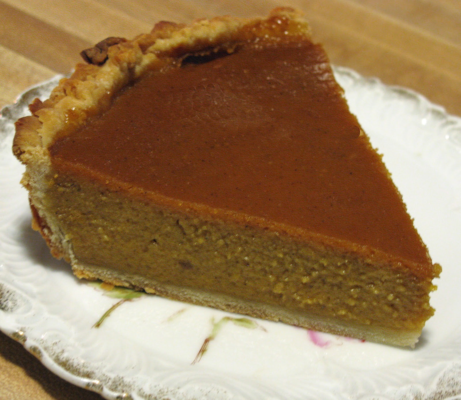 Food For A Hungry Soul: Pumpkin Pie From Scratch