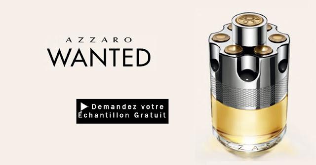 11475 échantillons gratuits du parfum Azzaro Wanted et 2500 boutons de manchettes à gagner !