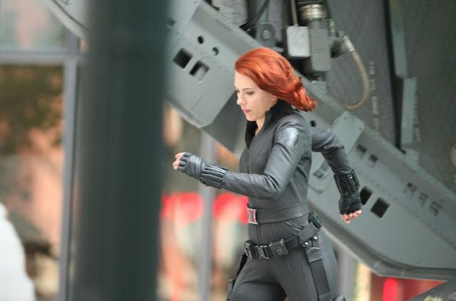 rodaje de los Vengadores en NY 3