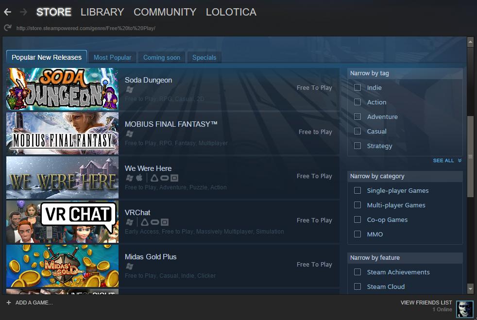 + Bạn có thể mua các game hấp dẫn rất dễ dàng thông qua gian hàng Store của  Steam: Chỉ đơn giản là tìm game bạn cần mua, thanh toán và Steam ...