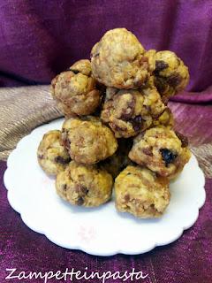 Biscotti con panettone senza burro