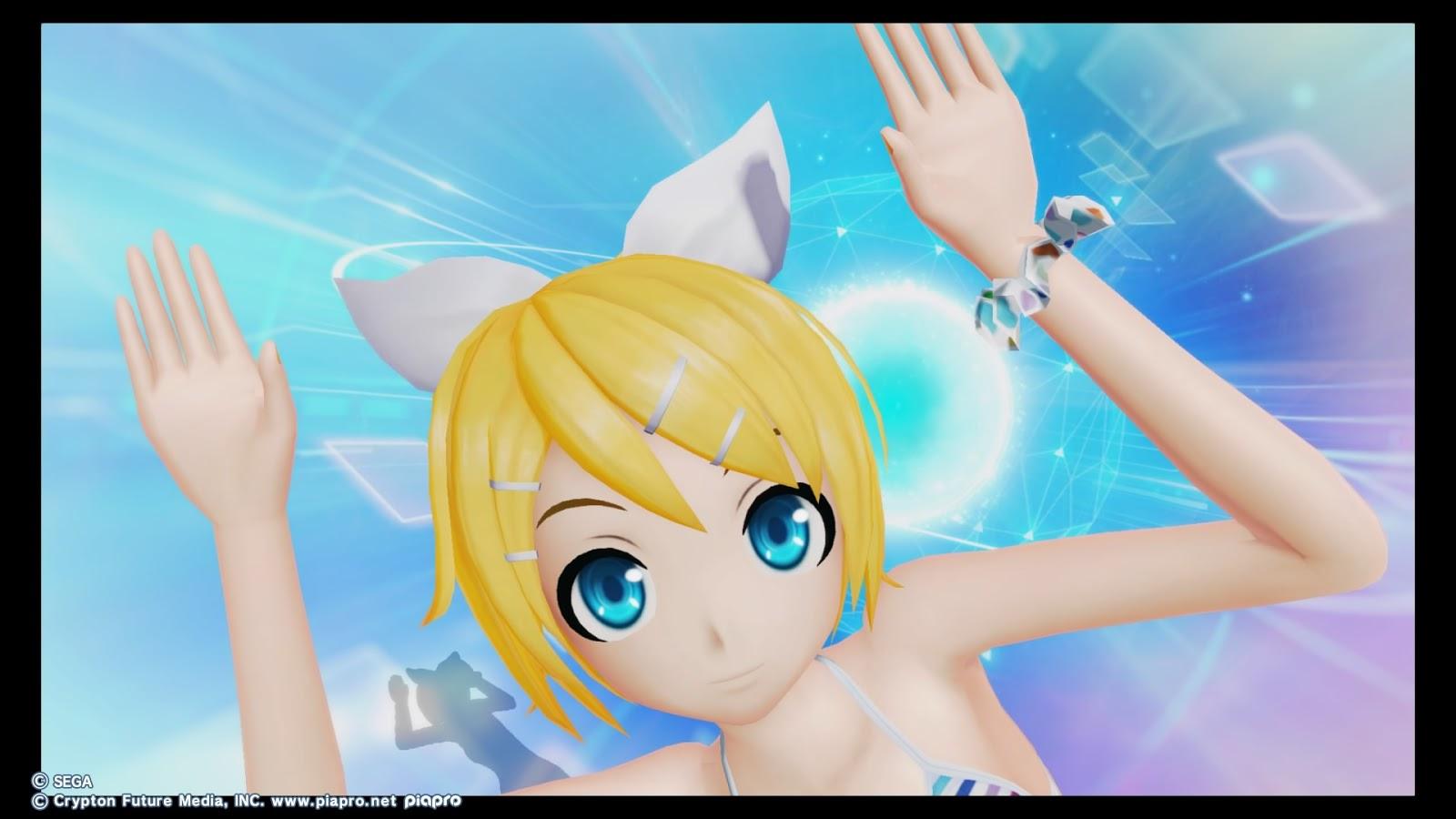 Anime feet kagamine rin project diva x - Kagamine rin project diva ...