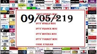 Free IPTV 24H 09-05-2019 m3u - links iptv free