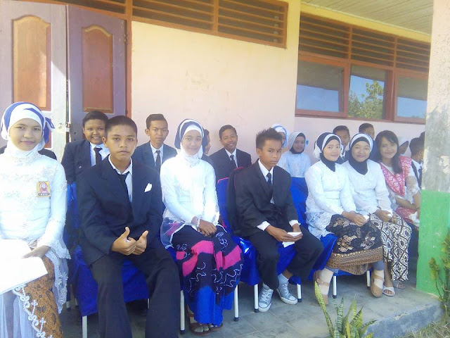 Acara Perpisahan dan Pengukuhan Kelas IX Tahun 2016