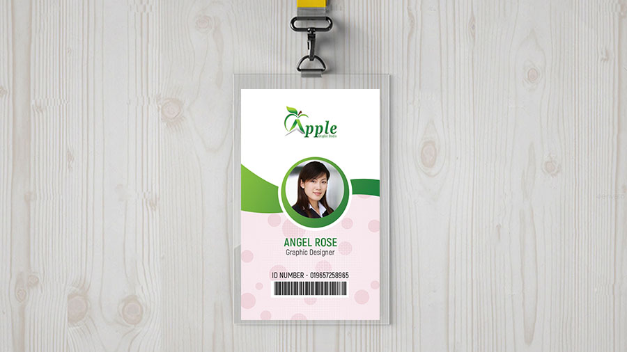 id badge design tutorial size of id card in photoshop apple