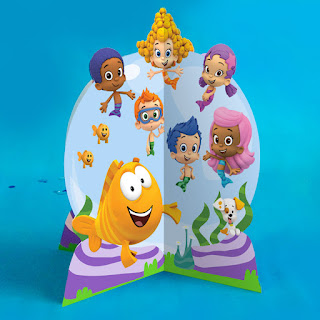 printable bubble guppies decorations