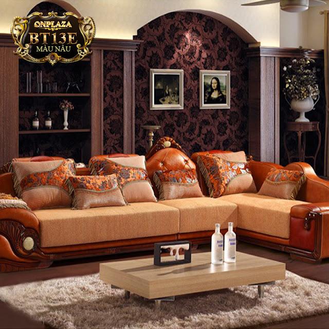 Ảnh: Ghế sofa cổ điển BT13E