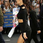 Selena Gomez latest pictures in black skirt