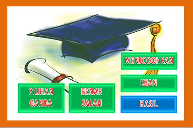 Aplikasi Pembuatan Soal Ulangan lengkap Tahun Pelajaran 2015-2016