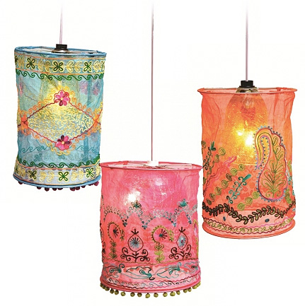 Make your own light shade