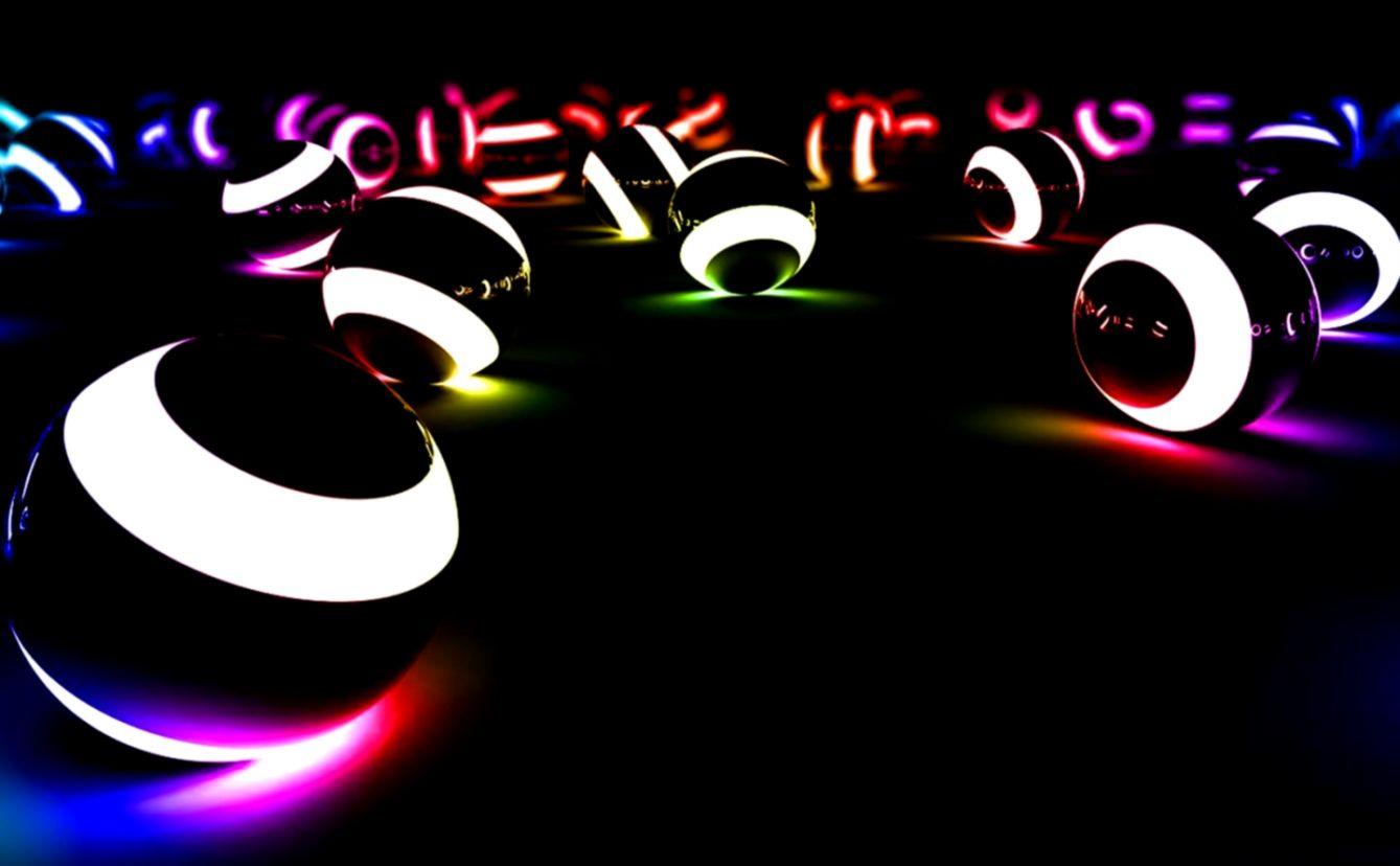 christmas neon lights hd - photo #44