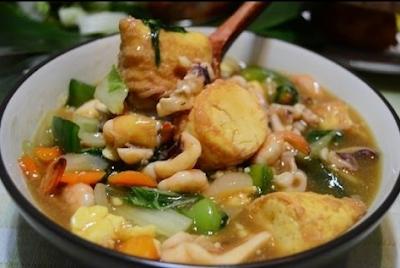 Menu Diet Sehat, Olahan sayur dan protein ala Chinese Food